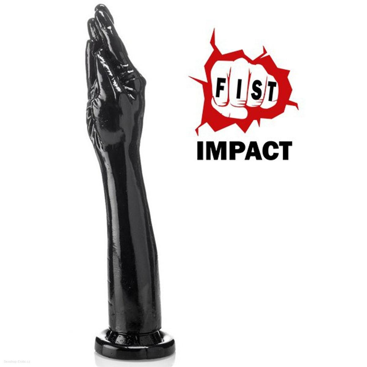 Ruka na fisting Fist Impact 5 Fingers plus black