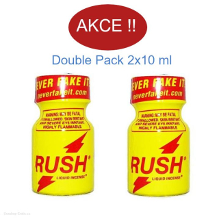 Poppers Rush Double Pack 2x10 ml